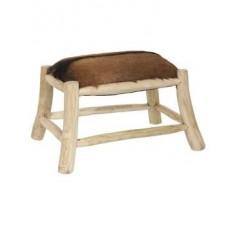 Obdelníková stolička / kozina
