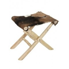 Skládací stolička / kozina